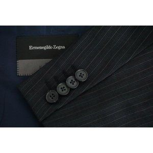Ermenegildo Zegna Roma Gray Multi Pinstriped suit